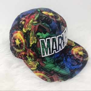 MARVEL Snapback Graphic Comics Characters Hat